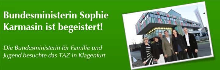 Sophie Karmasin im TAZ